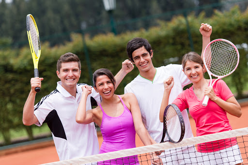 Group Tennis Lessons in Dubai
